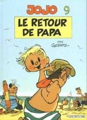 Jojo (Geerts) -9- Le retour de papa