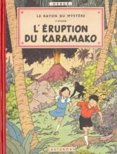 Jo, Zette et Jocko (Les Aventures de) -4B06- Le Rayon du Mystère 2e épisode, L'éruption du Karamako