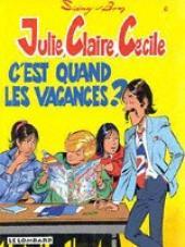 Julie, Claire, Cécile -6b1997- C'est quand les vacances?