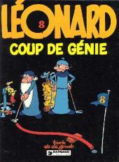 Léonard -8- Coup de génie