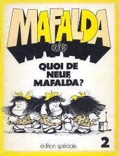 Mafalda -02- Quoi de neuf, Mafalda?