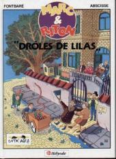Marc et Riton -1- Drôles de lilas