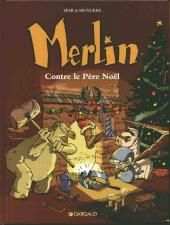 Merlin (Munuera) -2- Contre le père Noël
