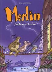 Merlin (Munuera) -1- Jambon et Tartine