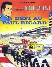 Michel Vaillant -05Pub- Défi au Paul Ricard