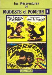 Modeste et Pompon (Mittéï/Godard) -5- Les mesaventures de Modeste et Pompon 5