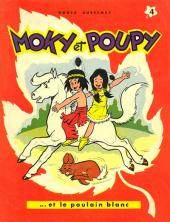 Moky et Poupy -4- Moky et Poupy et le poulain blanc