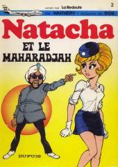Natacha -2Pub- Natacha et le Maharadjah