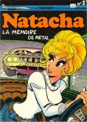 Natacha -3- La mémoire de métal