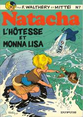 Natacha -7- L'hôtesse et Monna Lisa