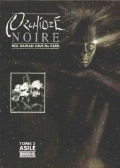 Orchidée noire -2- Asile