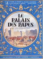 Monuments historiques en BD -1- Le palais des papes d'Avignon