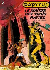 Papyrus -2b1998- Le maître des trois portes