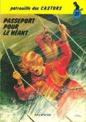 La patrouille des Castors -21- Passeport pour le néant