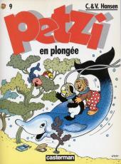 Petzi (Seconde série) -9- Petzi en plongée