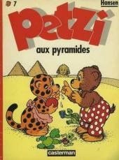 Petzi (Seconde série) -7- Petzi aux pyramides