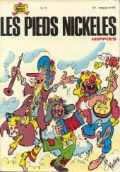 Les pieds Nickelés (3e série) (1946-1988) -71- Les Pieds Nickelés hippies