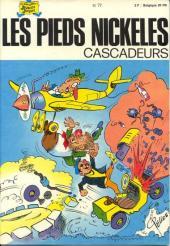 Les pieds Nickelés (3e série) (1946-1988) -77- Les Pieds Nickelés cascadeurs