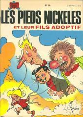 Les pieds Nickelés (3e série) (1946-1988) -78- Les Pieds Nickelés et leur fils adoptif