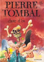 Pierre Tombal -15- Chute d'os