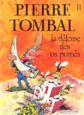 Pierre Tombal -11- La défense des os primés