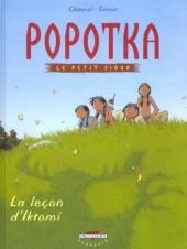 Popotka le petit Sioux -1- La leçon d'Iktomi