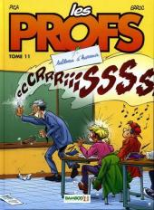 Les profs -11- Tableau d'horreur