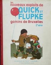 Quick et Flupke -1- (Petit vingtième) -2- Les nouveaux exploits de Quick et Flupke gamins de Bruxelles (2e série)