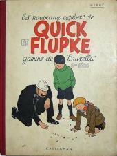 Quick et Flupke -2- (Casterman, N&B) -5- Quick et Flupke gamins de Bruxelles (5e série)