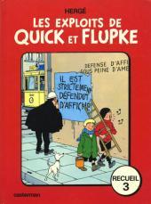 Quick et Flupke -3- (Casterman, couleurs) -REC3 75- Recueil 3