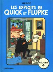 Quick et Flupke -3- (Casterman, couleurs) -REC4 - Recueil 4
