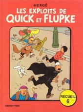 Quick et Flupke -3- (Casterman, couleurs) -REC6- Recueil 6