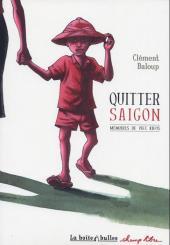Mémoires de Viet Kieu -1- Quitter Saïgon