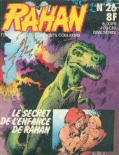 Rahan (1re Série - Vaillant) -26- Le secret de l'enfance de Rahan/Le wampas sans ailes/Pour un quartier de viande