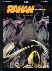 Rahan (Intégrale - Soleil) -15- Le courage et la peur...