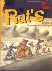 Rat's -1- En partance pour nulle part