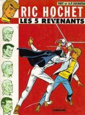 Ric Hochet -10a1978- Les 5 revenants