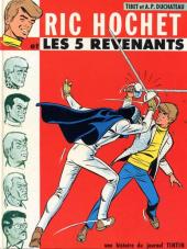 Couverture de Ric Hochet -10- Les 5 revenants