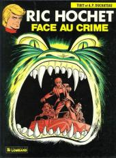Couverture de Ric Hochet -38- Face au crime