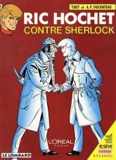 Ric Hochet -44pub- Ric Hochet contre Sherlock
