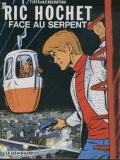 Ric Hochet -8Pub- Face au serpent