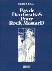 Rock Mastard -1TT- Pas de Deo gratias pour Rock Mastard