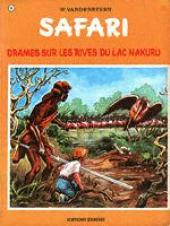 Safari (Vandersteen) -6- Drame sur les rives du lac Nakuru