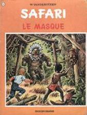 Safari (Vandersteen) -8- Le masque