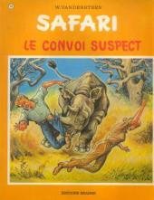 Safari (Vandersteen) -10- Le convoi suspect