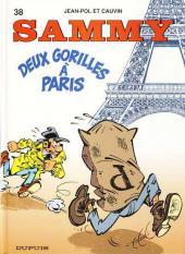 Sammy -38- Deux Gorilles à Paris