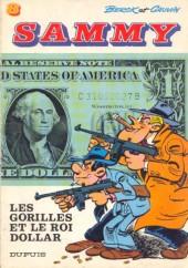 Sammy -8- Les gorilles et le roi Dollar