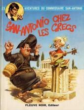 San-Antonio (Les Aventures du Commissaire) -4- San-Antonio chez les Grecs