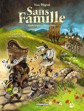 Sans famille (Dégruel) -2- La troupe du Signor Vitalis