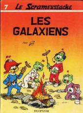 Le scrameustache -7- Les Galaxiens